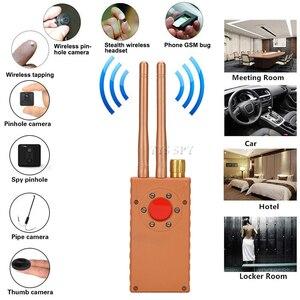 Image 2 - 와이파이 핀홀 숨겨진 카메라 탐지기 듀얼 안테나 G529 RF 신호 비밀 GPS 오디오 GSM 모바일 마이크로 캠 안티 솔직한 스파이 버그 파인더