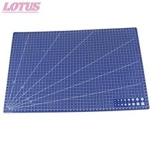 1Pcs A3 Pvc Rectangular Cutting Mat Grid Line Tool Plastic 45cm x30cm A3 Cutting Plate Hot Sale protect the blade service life