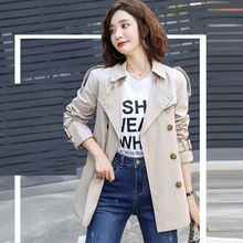 Trench Coat Women short paragraph Double Breasted 2020 spring / autumn women's c