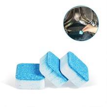 12 шт. бак стиральной машины чистящее средство шипучая таблетка стерилизации моющее средство для распрыскивания глубокий Чистый Макияж дезодорант