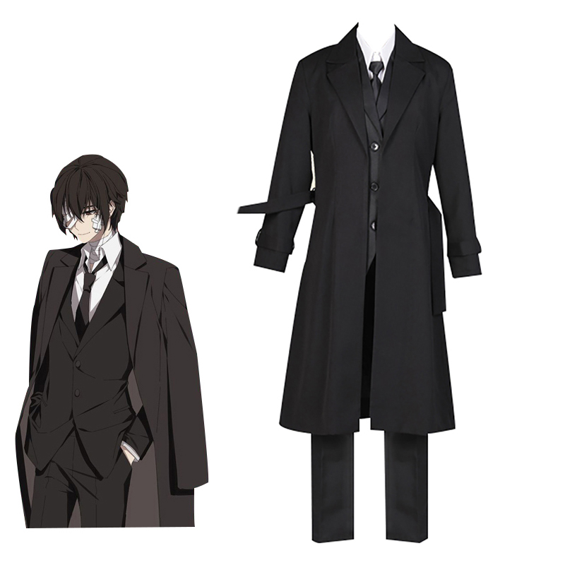 Anime Trench Coat Outfit Costume Halloween cosplay