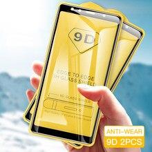 2/4PCS 9D Schutz Gehärtetem Glas für SamSung Galaxy S10E A30 A10 A50 A70 S21 20 A20E M31S a71 A51 Screen Protector Glas Film