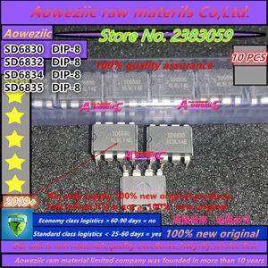Image 1 - Aoweziic 100% neue original SD6830 SD6832 SD6834 SD6835 DIP 8 LED LCD netzteil steuer chip