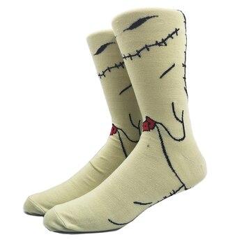 Cartoon Rabbit Sock Casual Hip Hop Creative Soft Comfortable Funny Novelty Skateboard socks Men Calcetines Hombre Divertido 21