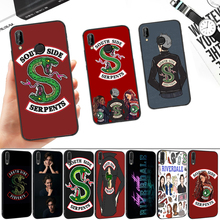 South Side Serpents Riverdale Silicone Soft Case for Huawei P8 P9 P10 P20 P30 Lite Pro P Smart Z Plus tv riverdale jughead jones silicone soft case for huawei p8 p9 p10 p20 p30 lite pro p smart z plus