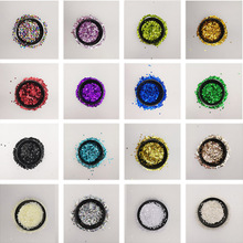 20g/Pack 3mm 4mm 5mm 6mm Circle Dot Shape Pvc Loose Sequins Paillettes Sewing Craft Wedding Decoration Garment Caps DIYAccessory