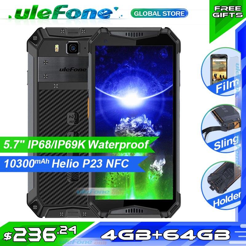 Ulefone Armadura 3 IP68 Impermeável Do Telefone Móvel 10300mAh 5.7