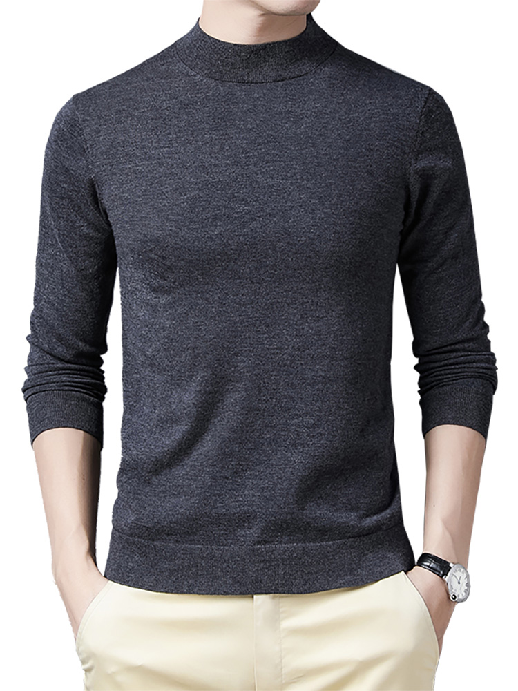 Brand Sweater Pull Warm 100%Merino-Wool COODRONY Autumn Men Winter Soft Homme C3014 High-Quality