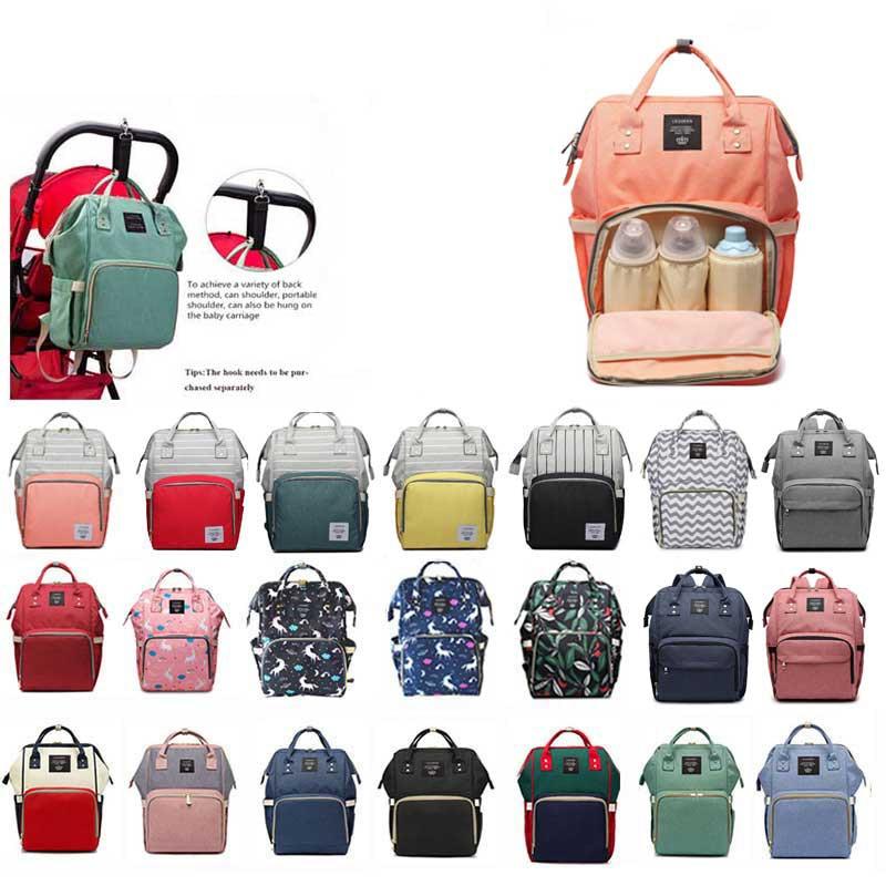 Fashion Mummy Maternity Nappy Bag Brand Large Capacity Baby Bag Travel Backpack Designer Nursing Bag For Baby Hand Bag