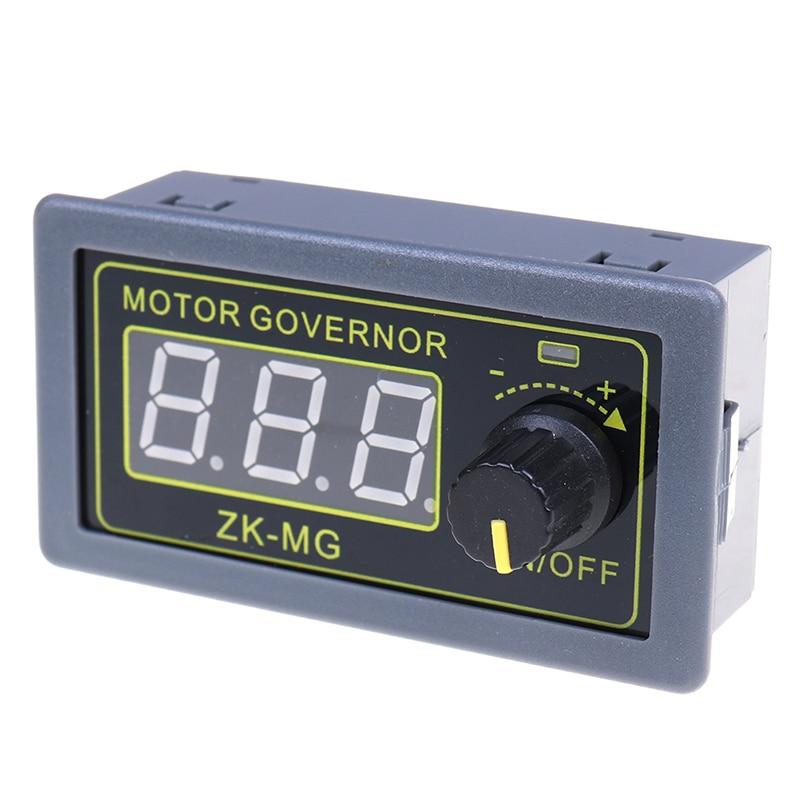 1 шт. 5-30 в 5-15A ШИМ контроллер скорости двигателя постоянного тока цифровой Dncoder коэффициент обязанности Rrequency 79*43*26 мм