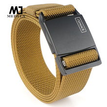 MEDYLA combat training army belt soft real nylon men's military tactical