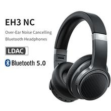 FiiO EH3NC Bluetooth 5.0 Over The Ear Hi Fi Deep Bass Headphones with aptX LL/aptX HD/LDAC/Mic EH3 NC