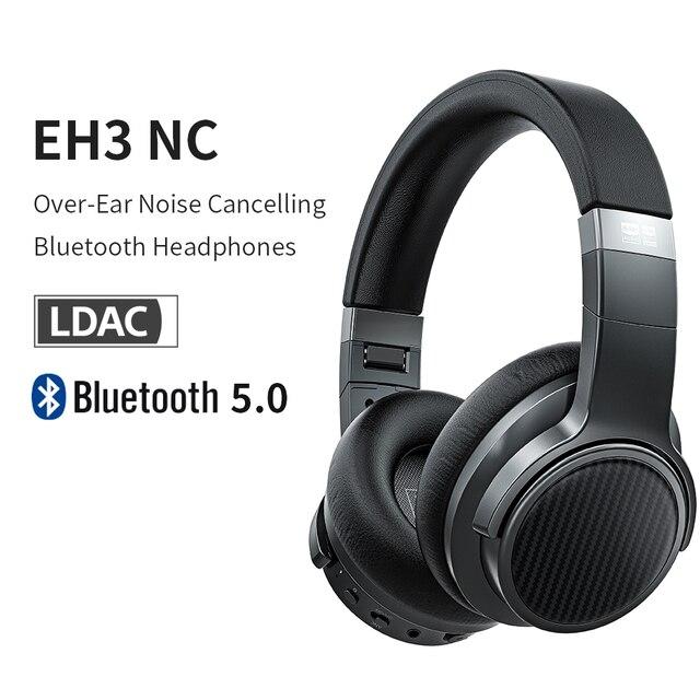 Fiio EH3NC Bluetooth 5.0 Over De Oor Hifi Diepe Bas Hoofdtelefoon Met Aptx Ll/Aptx Hd/Ldac/mic EH3 Nc