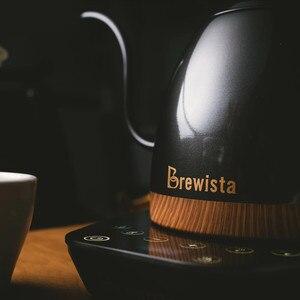 Image 3 - 1 шт. Brewista Artisan постоянная температура, 600 мл гусиная шея, Вариатор с контролем температуры, чайник, кофейник
