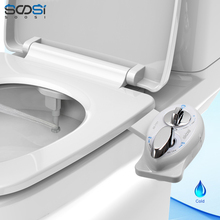 Non-Electric Bidet Toilet Seat anal Single Left Handle SS7701