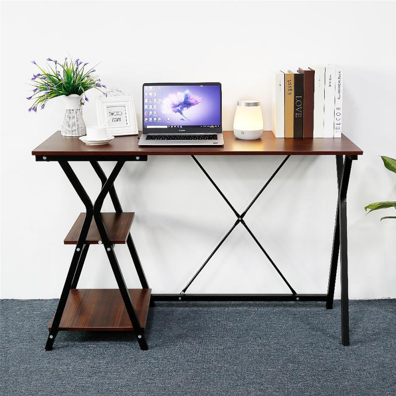 Desk With Storage Function Computer Desk Writing Desk Desktop Study Room Writing Desk Notebook Home Office Work Furniture HWC