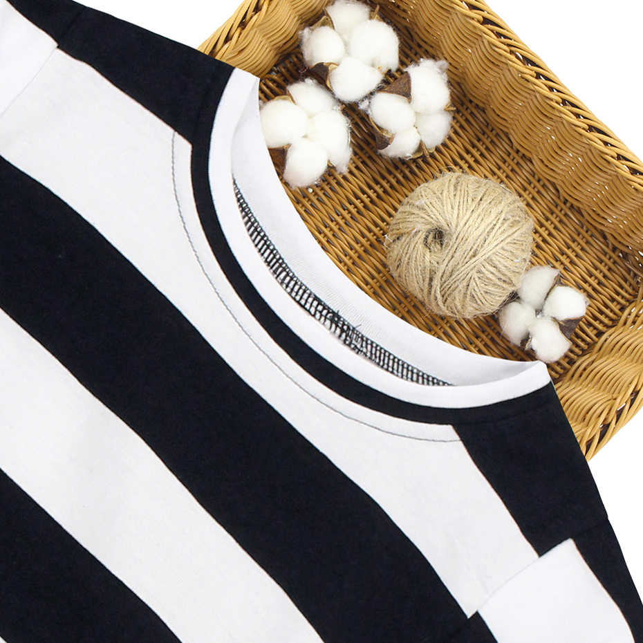 어린이 여름 옷 줄무늬 패턴 소녀 의상 조끼 + 치마 2PCS 소녀를위한 옷 십대 아이 옷