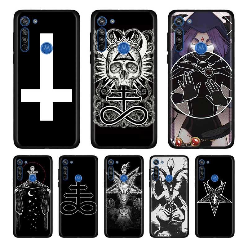 Devil Satan Soft Case For Motorola Edge Plus Moto G Stylus G8 G Power G8 Plus Play One Hyper E6s Case Shell