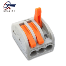 30/50/100 PCS/lot PCT-213/ 222-213 mini fast wire Connectors Universal Compact Wiring Connector push-in Terminal Block 30 50 100 pcs lot pct 214 color 222 214 mini fast wire connectors universal compact wiring connector push in terminal block