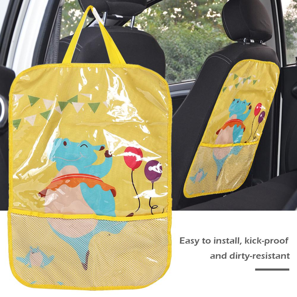 Car Seat Back <font><b>Cover</b></font> Protector for Kids Children Baby Kick Mat from Mud Dirt Universal for <font><b>Peugeot</b></font> <font><b>308</b></font> 2008 Hyundai Solaris image