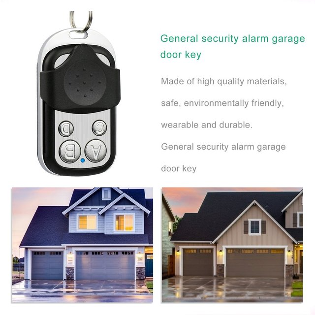 HFY408G Cloning Duplicator Key Fob A Distance Remote Control 433MHZ Clone Fixed Learning Code For Gate Garage Door