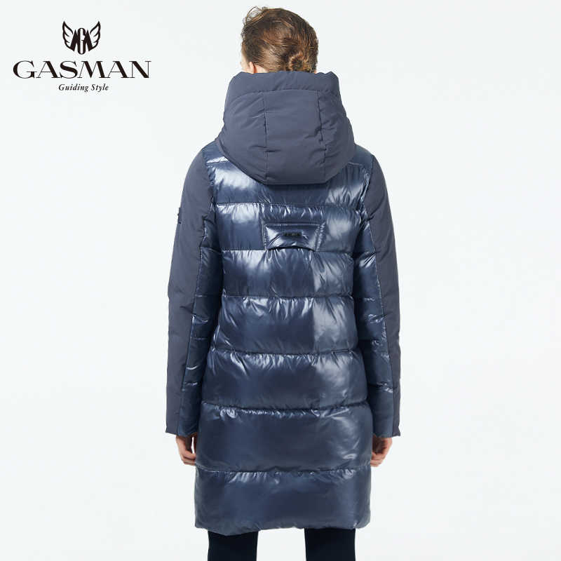 GASMAN chaqueta de abrigo para mujer chaqueta de invierno para mujer 2019 invierno gruesa ropa de abrigo de moda con capucha para mujer