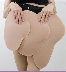 2020 Hot Silicone Hip Pad Bellezza Butt Lifter Rimovibile Specialità Abbellire Hip Natica Lifter Shaper Enhancer Pad Crossdresser