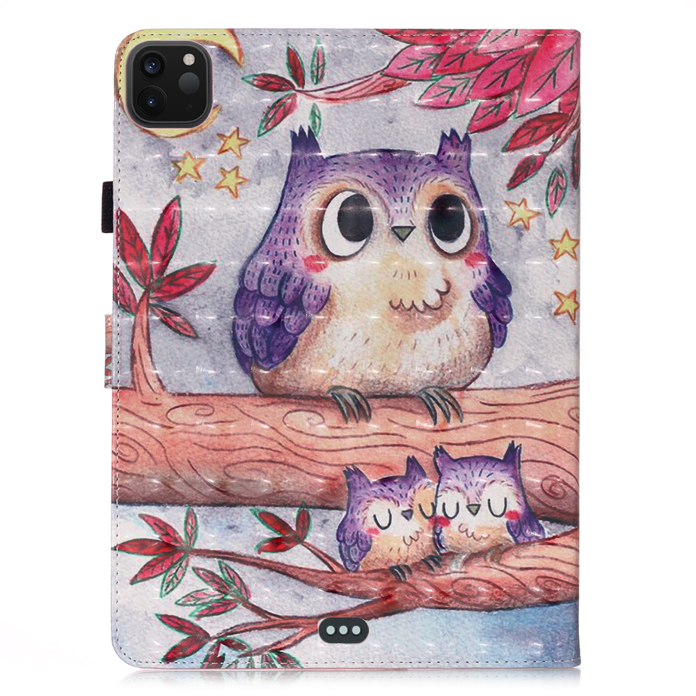 For Leather Tablet Butterfly Unicorn Coque Pro Bear For Owl Cover Case iPad Funda 11 2020