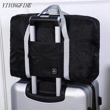Новинка дорожная сумка нейлон складной багаж сумка унисекс большой емкость сумка женская водонепроницаемость сумки мужские дорожные сумки бесплатно доставка