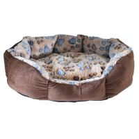Warm Round Pet Nest Cat Bed Comfortable Warming Dog Cat House Fall Winter Washable Kennel Dog Bed Warm House For Pet