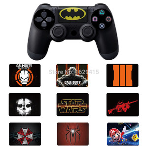 Image 1 - IVYUEEN Custom 1 PCS PVC Touch Pad Vinyl Stickers Decal Cover For Sony Dualshock 4 PS4 DS4 Pro Slim Controller Touchpad Skin
