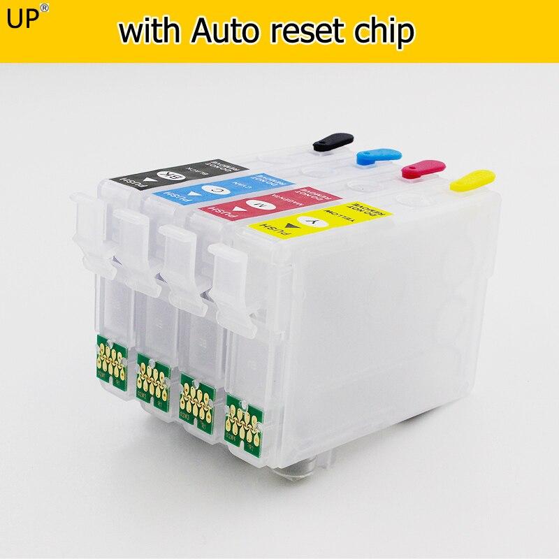 Европа T03A1 603XL 603 многоразовые картриджи с чипом автоматического сброса для принтера Epson XP-2100 XP-2105 XP-3100 XP-3105 WF-2850