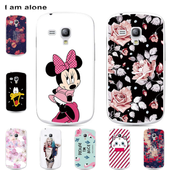 Phone Cases For Samsung Galaxy S3 Mini S4 Mini Hard Plastic Mobile Bags Cartoon Printed Cover Free Shipping mobile phone bags cases samsung ef wa600c phones telecommunications mobile phone accessories parts mobile phone bags cases