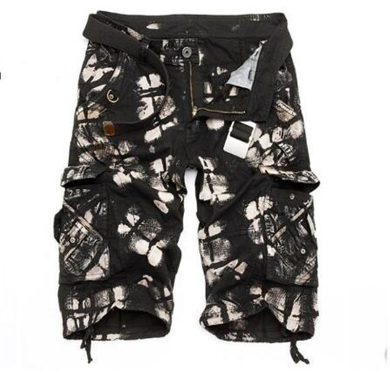XY02 Camo Shorts Bermuda 2019 Summer Camouflage casual Shorts Men Cotton Loose 10 colors Shorts