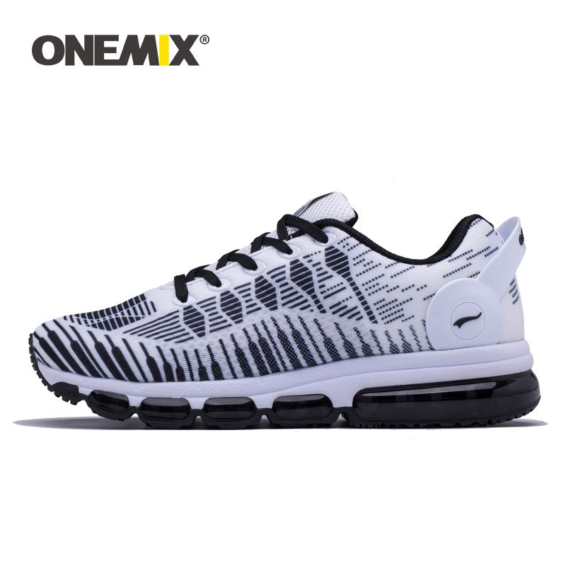 ONEMIX Women Running Shoes Men Sneakers Fashion Breathable Mesh Cushioning Couple Outdoor Jogging Athletic Jogging Shoes Walking