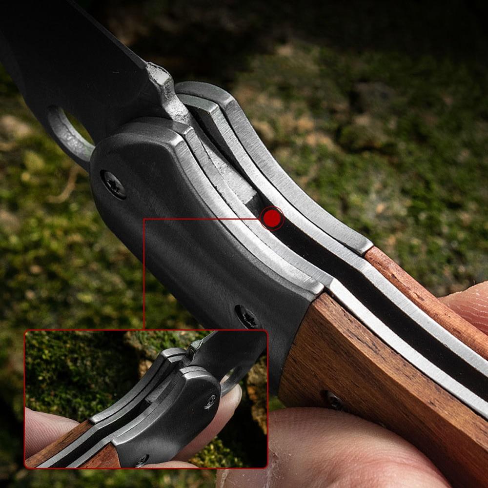 Luomeisupervivencia Bushcraft Military Knife Camping Utility Automatic Knive Armas De Defesa Cuchillo Tactico Edc Folding Knife
