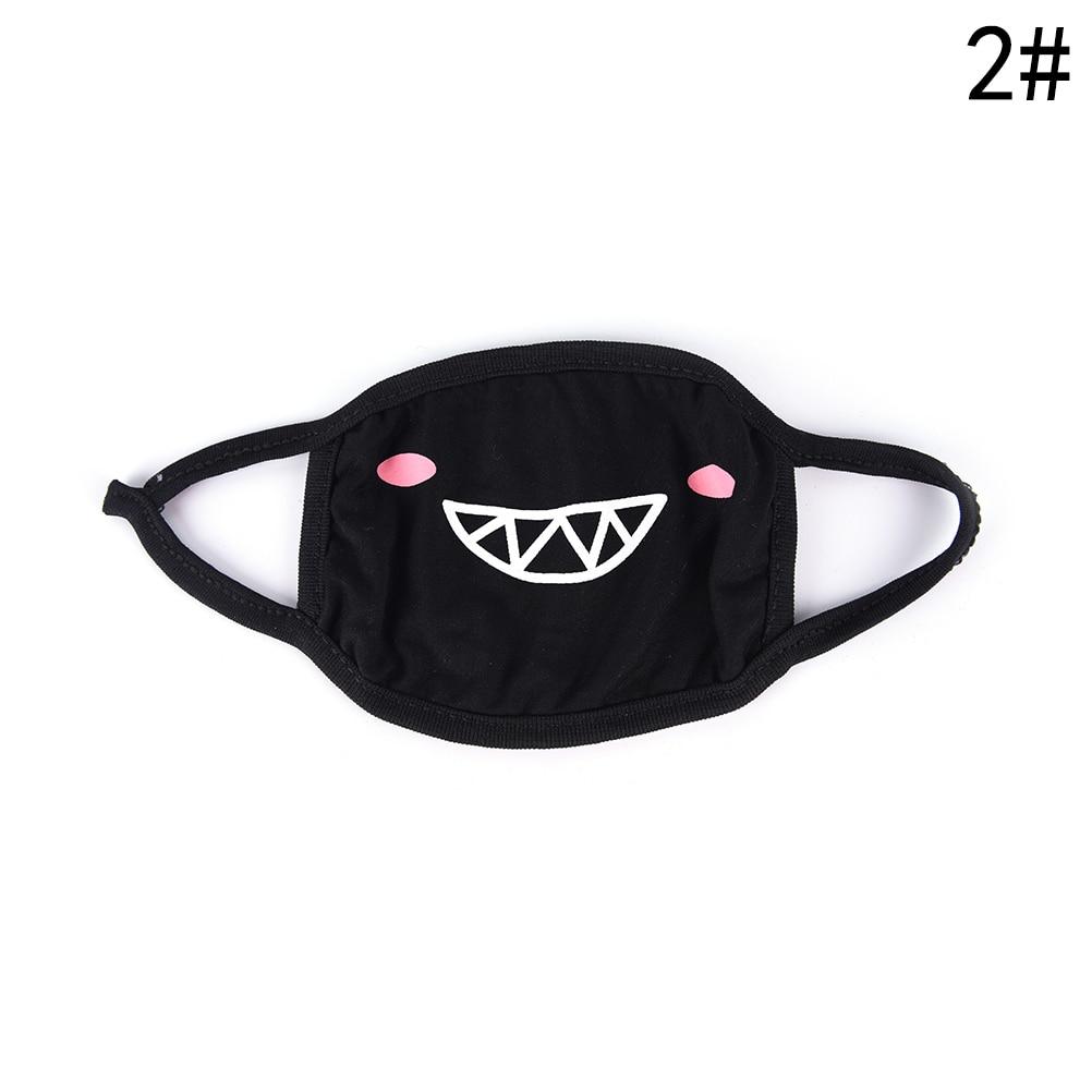 Маска для лица унисекс, хлопковая Пылезащитная маска для лица, маска для лица с рисунком медведя из аниме, женские и мужские Вечерние Маски для лица - Цвет: 15