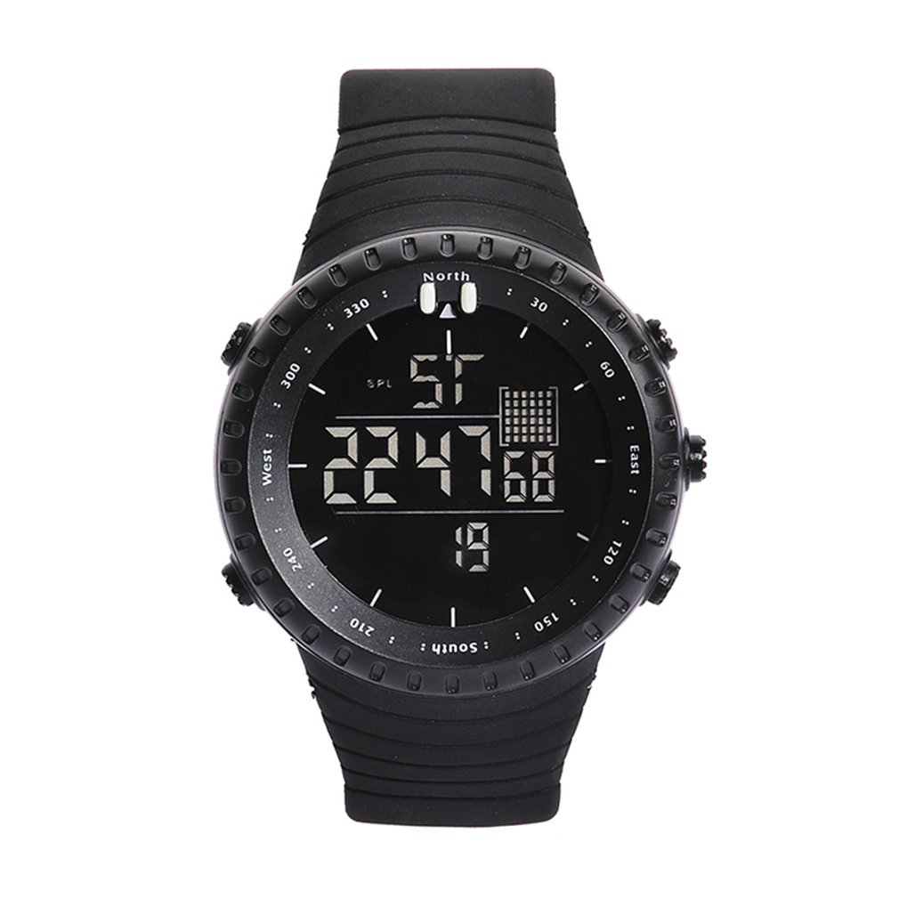 Watch Fashion Trend Men And Women Couples Led Dual Display Sports Outdoor Multi-function Electronic Watch Dropshipping