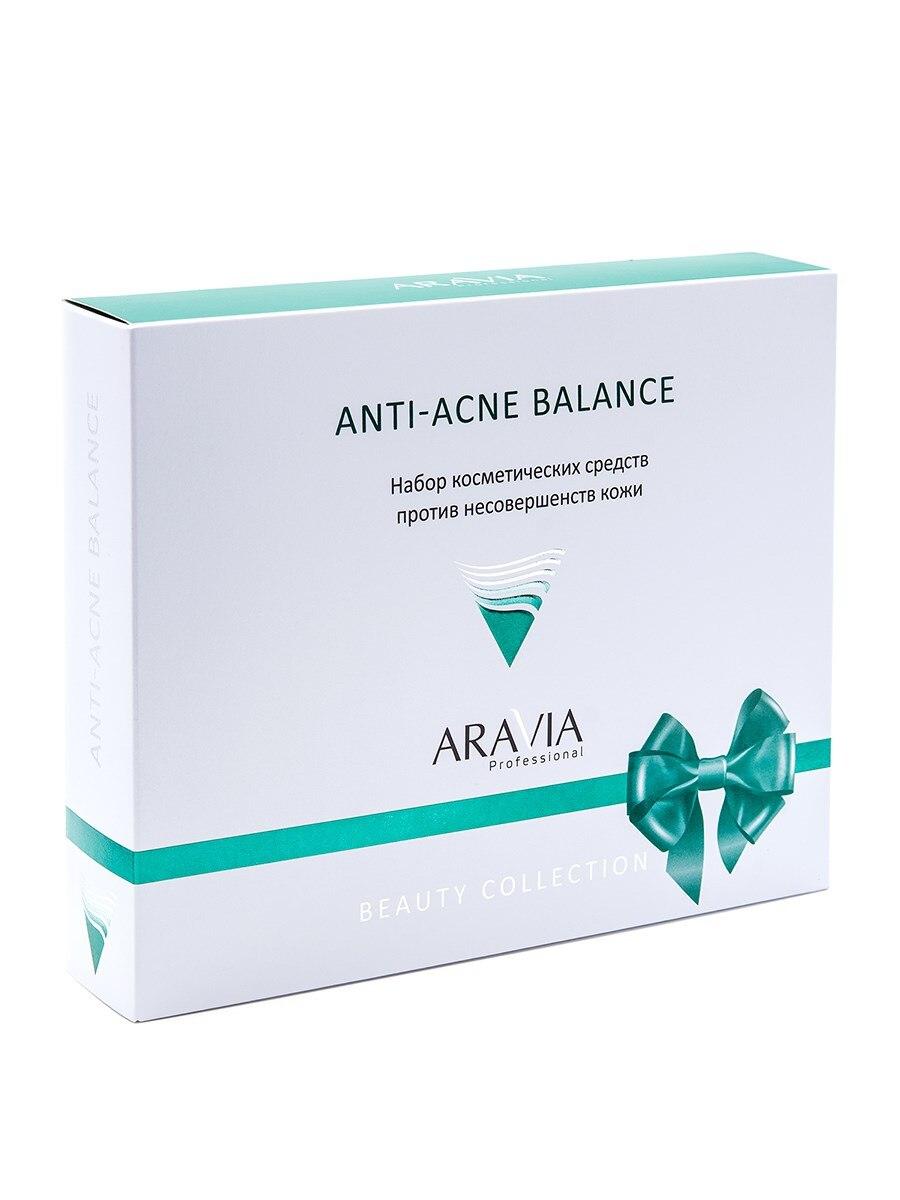 Set Against несовершенств Skin Anti-acne Balance, Aravia Professional