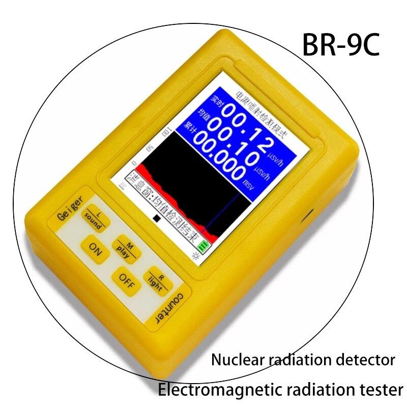 Высокоточный счетчик Гейгера, портативный дозиметр ядерного излучения, электронный детектор радиации, электромотивный инструмент силы