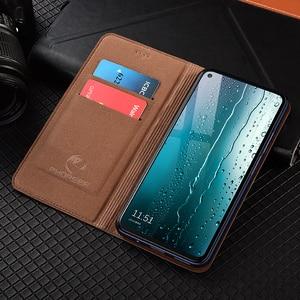 Image 3 - Magnet Natural Genuine Leather Skin Flip Wallet Book Phone Case Cover On For Xiaomi MI 9 Lite SE 9T Pro Mi9 9Lite Mi9t 64/128 GB