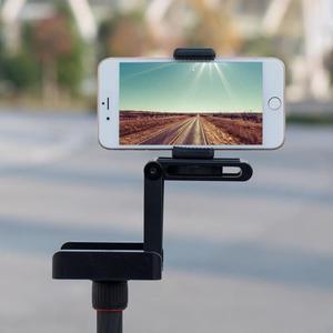 Image 3 - Складной штатив ALLOYSEED Z, гибкий наклон, из алюминиевого сплава, складная наклонная головка Z, БЫСТРОРАЗЪЕМНАЯ пластина, подставка, крепление для телефонов и камер