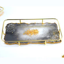 New Crystal Epoxy Resin Mold Fruit Plate Casting Silicone Mould Handmade DIY Crafts Tray Making Tools Wholesale Drop Shipping