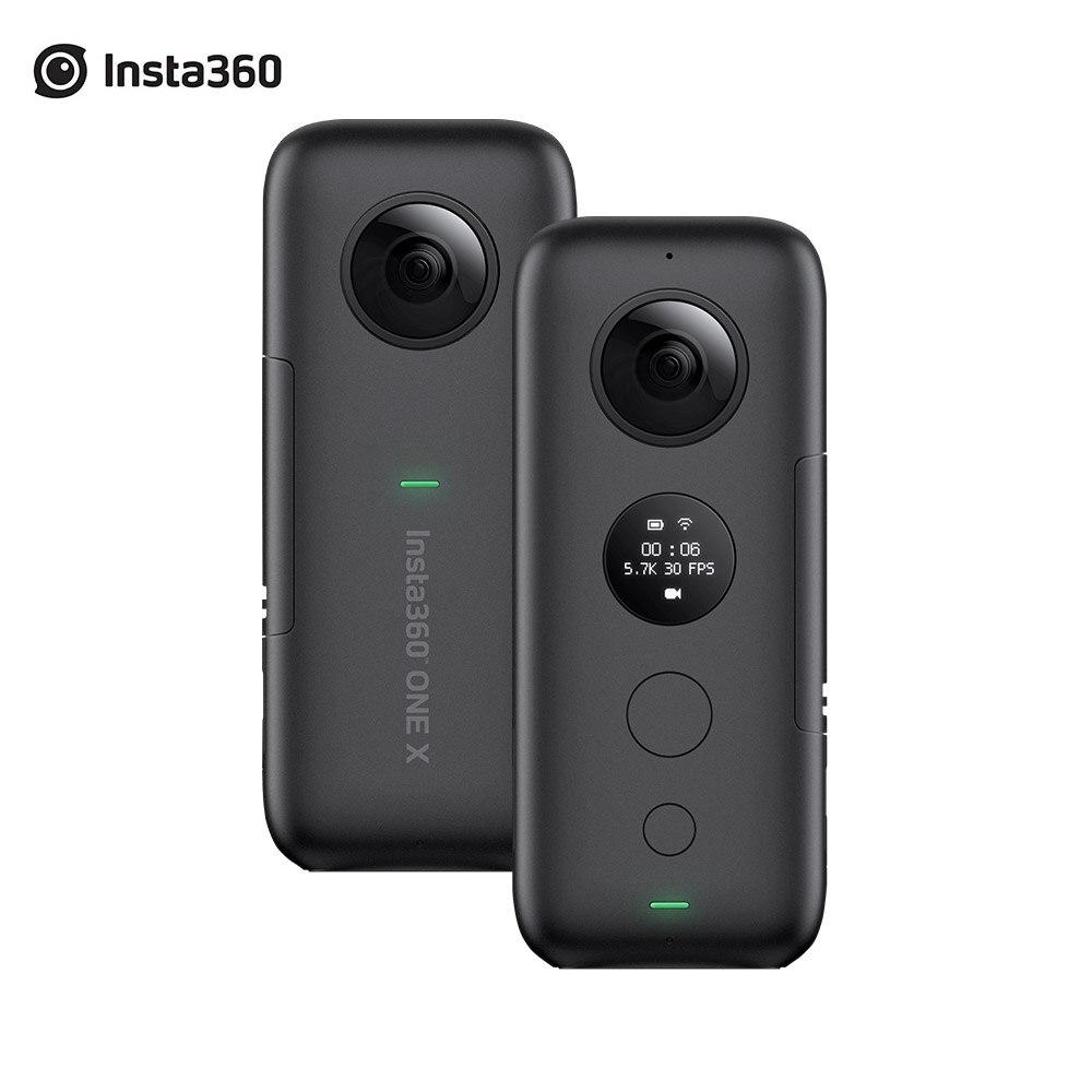 Insta360 ONE X boîtier de caméra d'action sportive et chargeur de batterie 5.7K vidéo VR Insta 360 caméra panoramique 18MP Photo