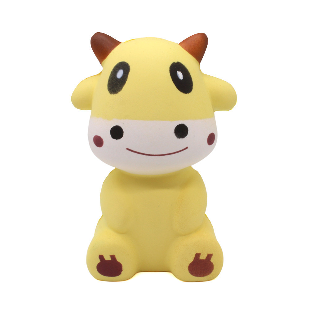 Adorable Calves Slow Rising Funny Toy Decompression Stress Soft Squeeze Fun Toys Relieves Stress Anxiety To Adult #B
