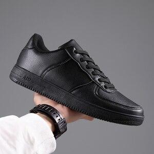 Image 2 - Venda quente branco tênis masculinos 2020 luz sapatos casuais para homem respirável preto sapatos masculinos tamanho grande tenis masculino zapatos hombre
