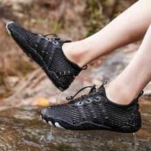 Upstream Shoes Climbing-Sneakers Breathable Rubber Wearproof Quick-Dry Outdoor Men Antiskid-Treakking