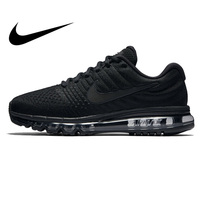 Original Authentic NIKE AIR MAX 2017 Mens Running Shoes Sport Outdoor Mesh Breathable Sneakers Athletic Designer Footwear 849559
