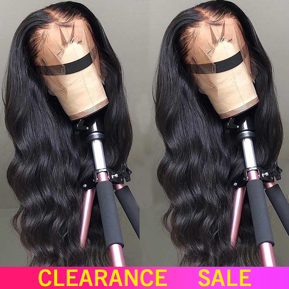 150% 180% Lace Front Human Hair Wigs 13X4 Non-Remy Free Part Brazilian Body Wave Lace Front Wig With Baby Hair For Black Women