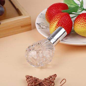 15 ML Portable Travel kosmetyki wielokrotnego użytku pusta butelka Spray aluminiowy Mini butelka z przezroczystego szkła perfumy w sprayu tanie i dobre opinie HNKMP CN (pochodzenie) 21025772